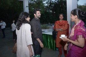( L-R) Chiki Sarkar, Siddharth Mukherjee, Nirmala George and Jaya Bhattacharji Rose