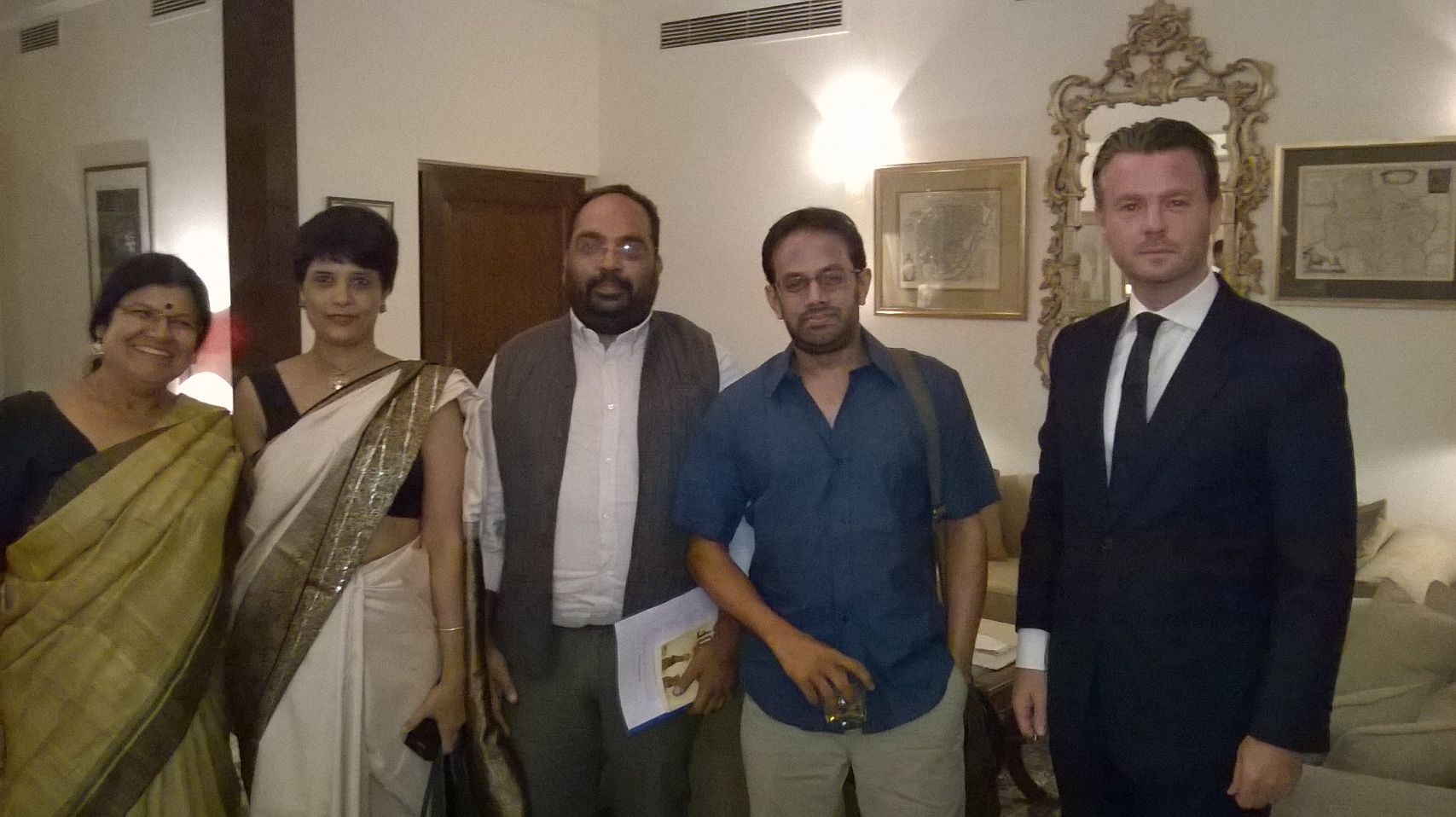 Press Release, Literary event, Embassy of Ireland, India ( 16 Oct 2014)