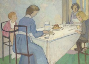 The Nursery Tea, Vanessa Bell