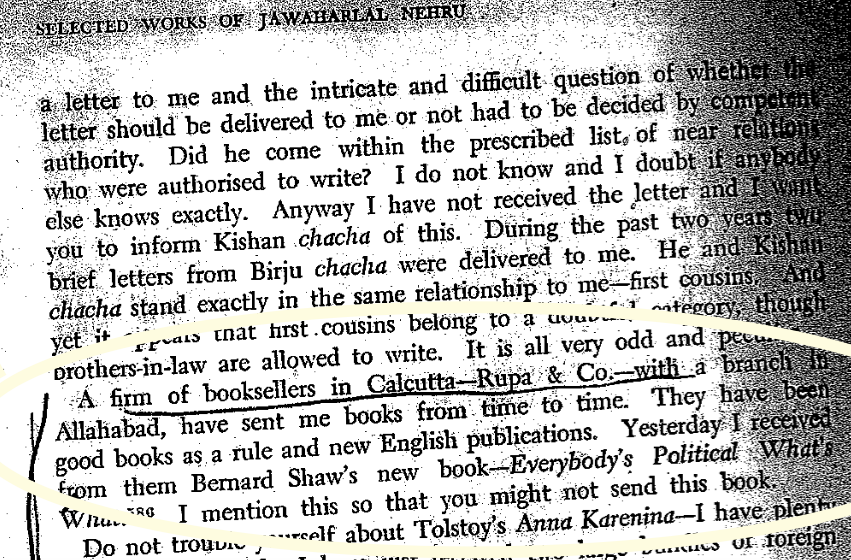 press release rupa publications turns jaya s blog  nehru s letter to indira gandhi