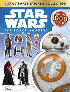 Star Wars The force Awakens Sticker collection
